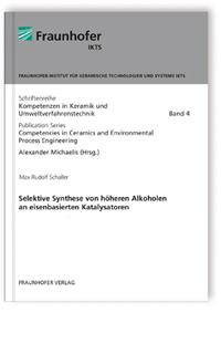 Buch: Selektive Synthese von höheren Alkoholen an eisenbasierten Katalysatoren.