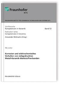 Buch: Korrosion und elektrochemisches Verhalten von siebgedruckten Metall-Keramik-Werkstoffverbunden