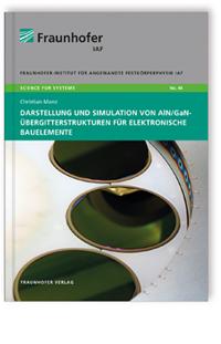 Buch: Darstellung und Simulation von AlN/GaN-Übergitterstrukturen für elektronische Bauelemente
