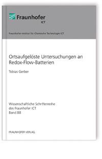 Buch: Ortsaufgelöste Untersuchungen an Redox-Flow-Batterien
