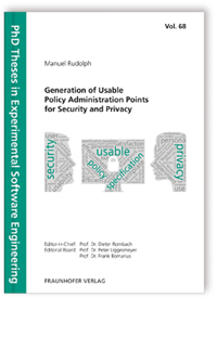 Buch: Generation of Usable Policy Administration Points for Security and Privacy