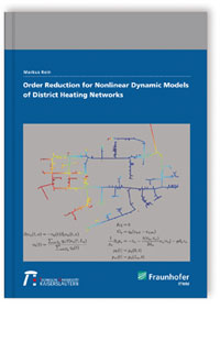 Buch: Order reduction for nonlinear dynamic models of district heating networks