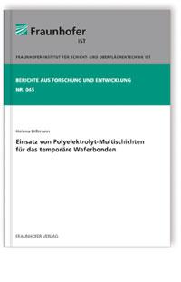 Buch: Einsatz von Polyelektrolyt-Multischichten für das temporäre Waferbonden