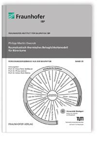 Buch: Raumakustisch-thermisches Behaglichkeitsmodell für Büroräume