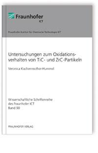 Buch: Untersuchungen zum Oxidationsverhalten von TiC- und ZrC-Partikeln