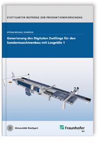 Buch: Generierung des Digitalen Zwillings für den Sondermaschinenbau mit Losgröße 1