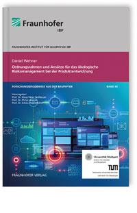 Buch: Ordnungsrahmen und Ansätze für das ökologische Risikomanagement bei der Produktentwicklung.