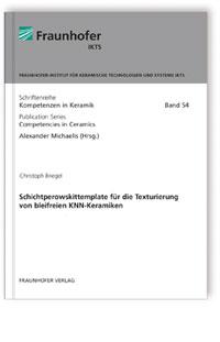 Buch: Schichtperowskittemplate für die Texturierung von bleifreien KNN-Keramiken