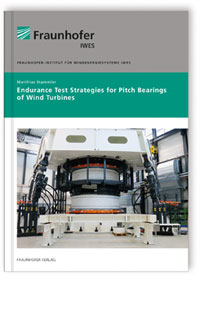 Buch: Endurance Test Strategies for Pitch Bearings of Wind Turbines