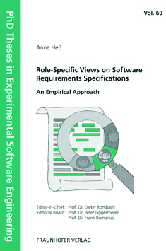 Buch: Role-Specific Views on Software Requirements Specifications