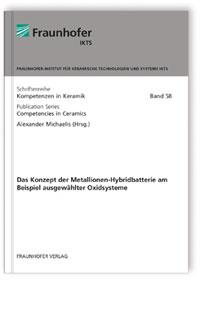Buch: Das Konzept der Metallionen-Hybridbatterie am Beispiel ausgewählter Oxidsysteme.