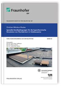 Buch: Spezielle Randbedingungen für die hygrothermische Simulation von Flachdächern in Holzbauweise