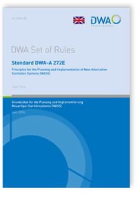 Merkblatt: Standard DWA-A 272E, June 2014. Principles for the planning and implementation of new alternative sanitation systems (NASS)