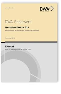Merkblatt: Merkblatt DWA-M 529 Entwurf, November 2018. Auskolkungen an pfahlartigen Bauwerksgründungen