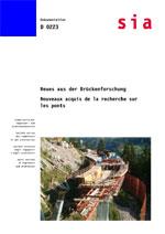 Buch: Neues aus der Brückenforschung / Nouveaux acquis de la recherche sur les ponts