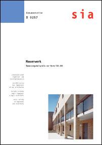 Buch: Mauerwerk - Bemessungsbeispiele zur Norm SIA 266