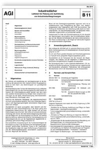 Merkblatt: AGI Arbeitsblatt B 11. Industriedächer. Leitlinien für Planung und Ausführung von Industriedachbegrünungen. Ausgabe Mai 2019