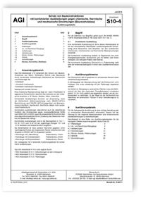 Merkblatt Agi Arbeitsblatt S 10 4 Schutz Von