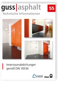 Merkblatt: Innenraumabdichtungen gemäß DIN 18534