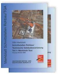 Merkblatt: Merkblatt Schnittstellen Rohbau / Technische Gebäudeausrüstung