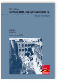 Merkblatt: Merkblatt Bauen im Bestand - Leitfaden