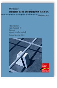 Merkblatt: Abstandhalter nach Eurocode 2