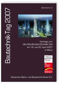 Buch: Bautechnik-Tag 2007
