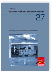 Buch: Wartung und Instandhaltung von Parkbauten