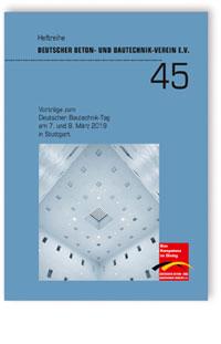 Buch: Vorträge zum Deutschen Bautechnik-Tag am 7. und 8. März 2019 in Stuttgart