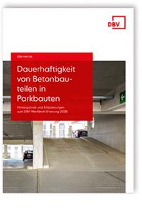 Buch: Dauerhaftigkeit von Betonbauteilen in Parkbauten