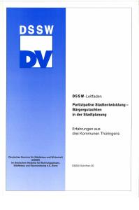 Buch: Partizipative Stadtentwicklung - Bürgergutachten in der Stadtplanung. Erfahrungen aus drei Kommunen Thüringens