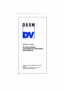 Buch: Die neuen Medien - Innerstädtische Attraktivität kommunizieren. DSSW-Leitfaden