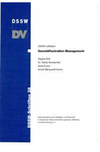 Buch: Geschäftsstraßen-Management. DSSW-Leitfaden
