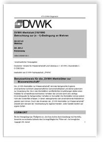 Merkblatt: Betrachtungen zur (n-1)-Bedingung an Wehren