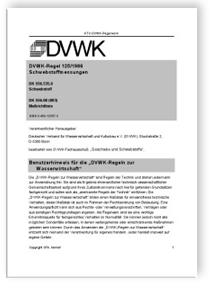 Merkblatt: Schwebstoffmessungen
