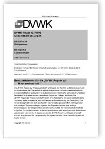 Merkblatt: Geschiebemessungen. DK 551.51/.54 Fliessgewässer, DK 556.535.6 Geschiebefracht