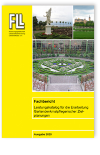 Merkblatt: Fachbericht Leistungskatalog für die Erarbeitung Gartendenkmalpflegerischer Zielplanungen