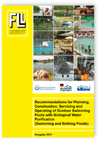 Merkblatt: Recommendations for Planning, Construction, Servicing and Operating of Outdoor Swimming Pools with Biological Water Purification (Swimming and Bathing Ponds). Edition 2011