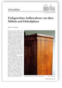 Merkblatt: Umgang mit historischen Möbeln