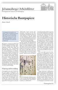 Merkblatt: Historische Buntpapiere