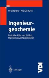 Ingenieurgeochemie, m. CD-ROM.