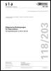 SIA 118/203:2016. Allgemeine Bedingungen für Deponiebau