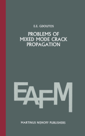 Problems of mixed mode crack propagation