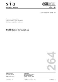 SIA 264:2014. Stahl-Beton-Verbundbau