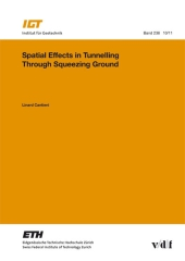 Spatial Effects in Tunnelling Through Squeezing Ground.