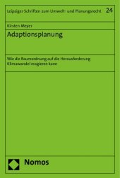 Adaptionsplanung