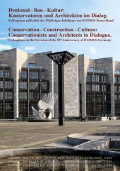 Denkmal - Bau - Kultur / Conservation - Construction - Culture