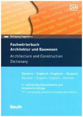 Fachwörterbuch Architektur und Bauwesen; Architecture and Construction Dictionary