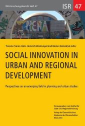 Social Innovation in Urban and Regional Development
