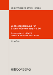 Landesbauordnung für Baden-Württemberg - LBO
